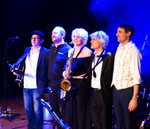 Photo du groupe seven shades of Blue en concert au P'tit Cerny
